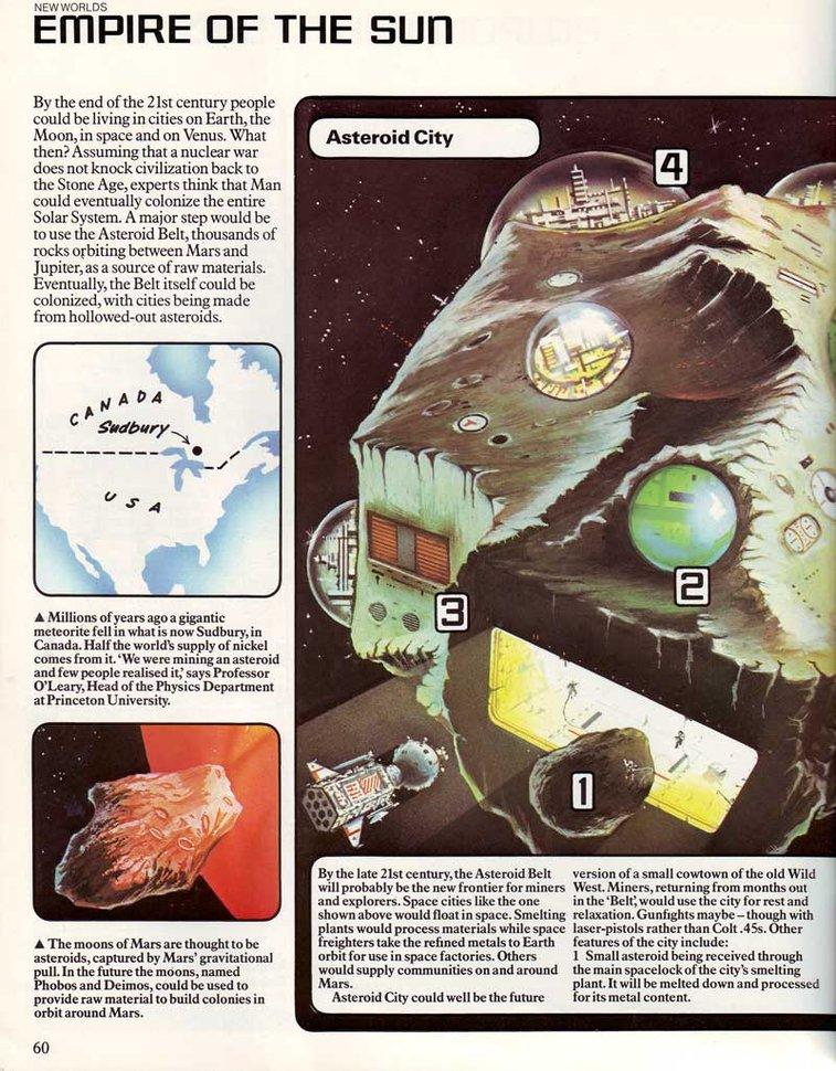 70s Sci-Fi Art: The Usborne Book of the Future