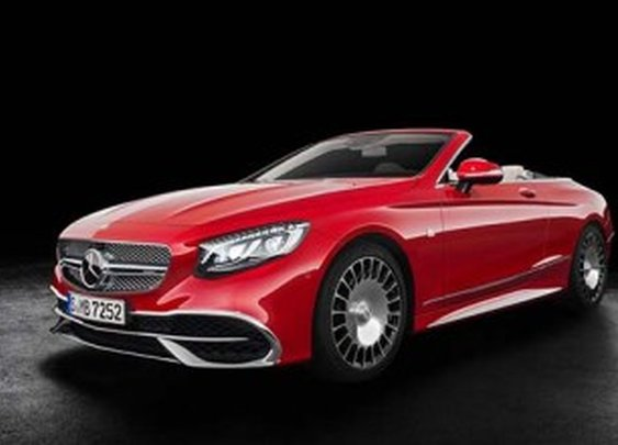 Mercedes-Maybach's S650 Cabriolet Has Swarovski Headlamps