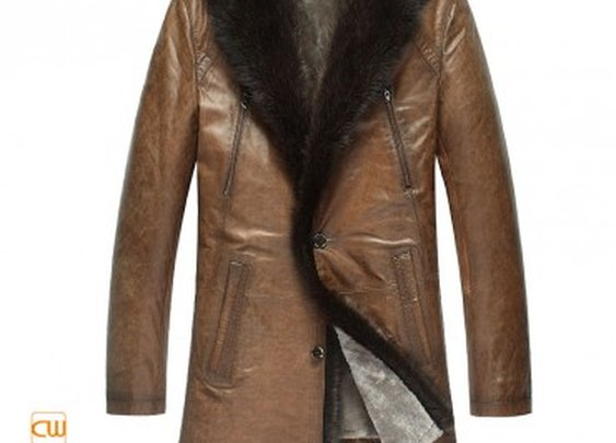 Mens Fur Lined Coat | Gentlemint