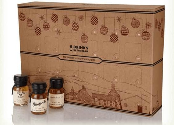 Whiskey Advent Calendar Lets You Try A Whiskey A Day In December