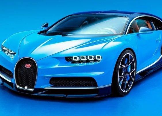 $2.5 million Bugatti in the ditch
