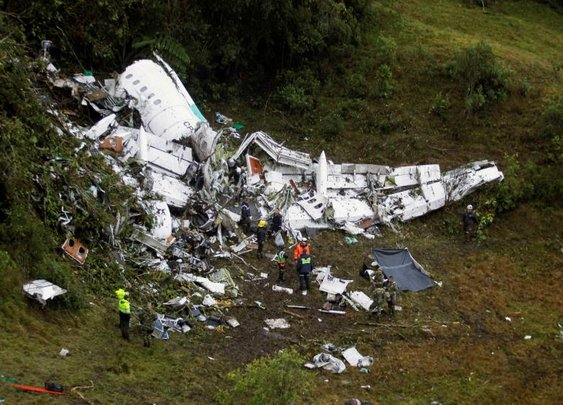 Soccer Team Killed in Plane Crash, Save Three.