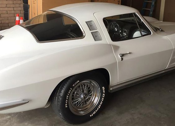 Good News: Stolen Corvette Returned to Owner 40 Years Later