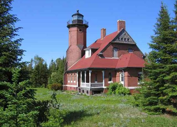 One of Michigan's Prettiest Historical Lighthouses is for Sale