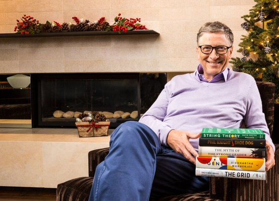 My Favorite Books of 2016 by Bill Gates