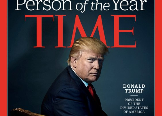 Donald Trump is (finally) named Time's 'Person of the Year'