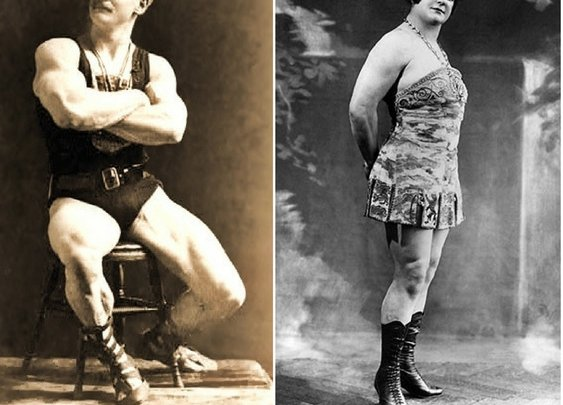 The Best and Worst Fitness Tips From Old-Timey Strongmen and Strongwomen - BarBend