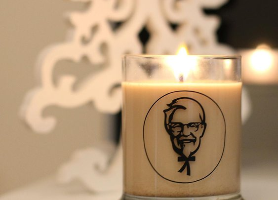 KFC Scented Candle fills your house with the sweet, sweet smell of KFC
