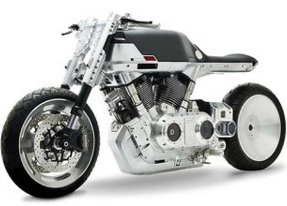 Vanguard Roadster Is a Motorcycle From Another World