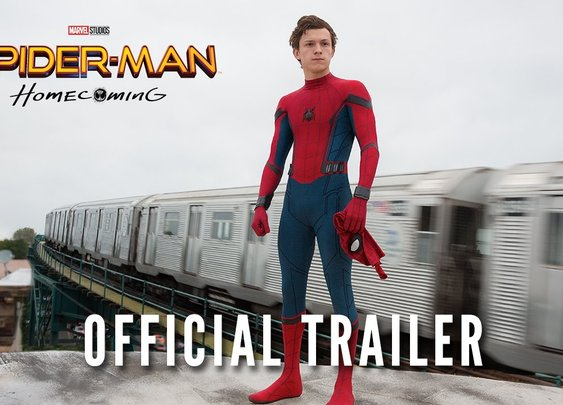 FIRST OFFICIAL Trailer for Spider-Man: Homecoming - YouTube