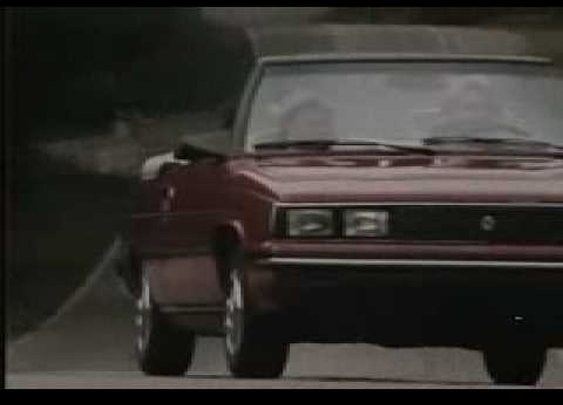 Renault and AMC commercial from 1985