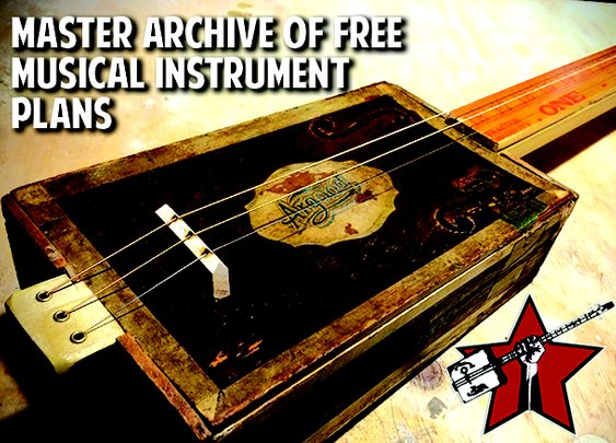 Giant Archive of Free DIY Musical Instrument Plans