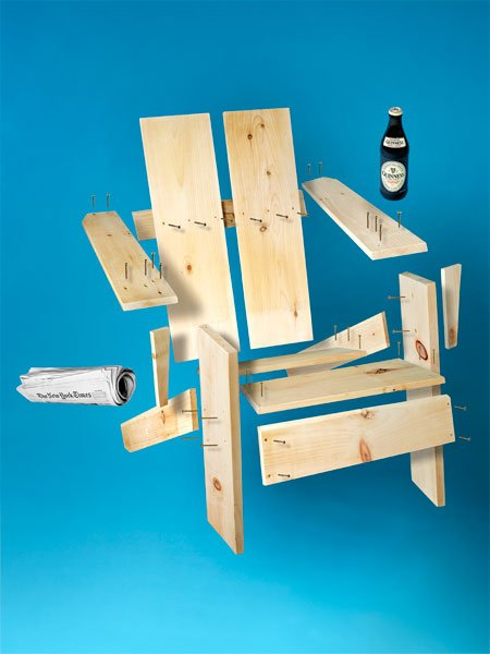 How to Make a Two-Board Backyard Lounger