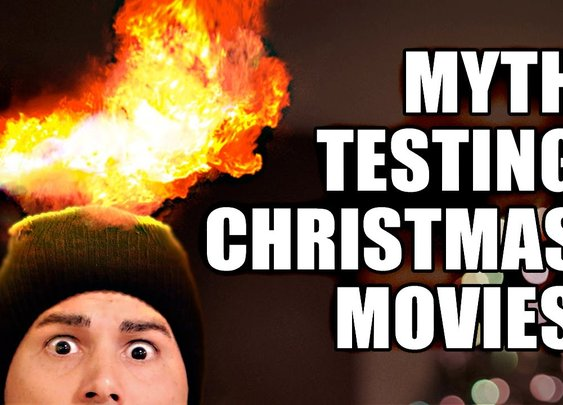Myth-testing Christmas movies with SCIENCE EXPERIMENTS