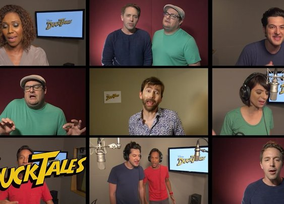 """""""DuckTales"""" Cast Sing the Classic Theme Song"""