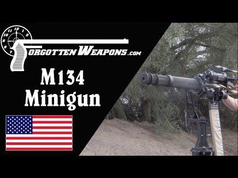 M134 Minigun: The Modern Gatling Gun - YouTube