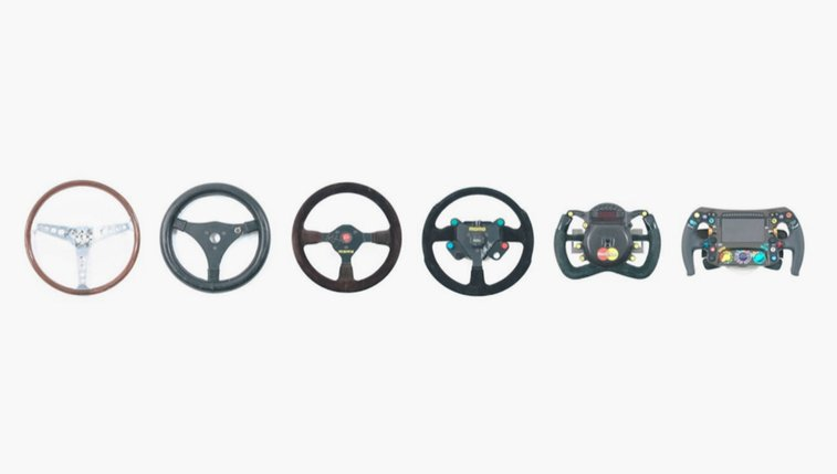 The Evolution of F1 Steering Wheels - Airows