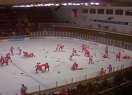 The Piestany Punch-up - Video - TSN
