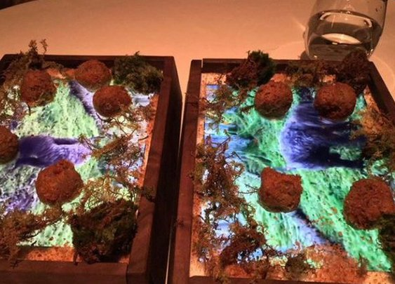 $220 lets you eat truffles off an iPad in SF restaurant