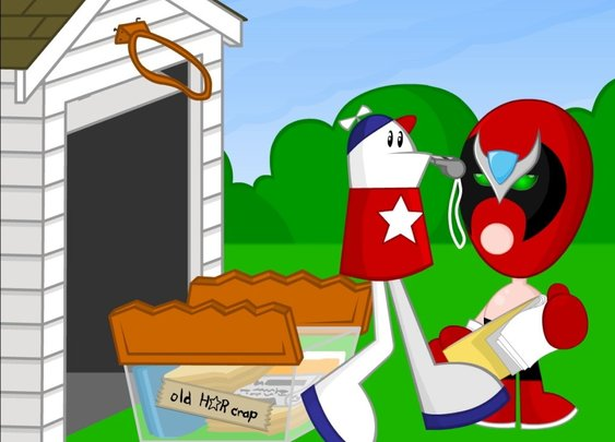 Homestar Runner Goes for the Gold