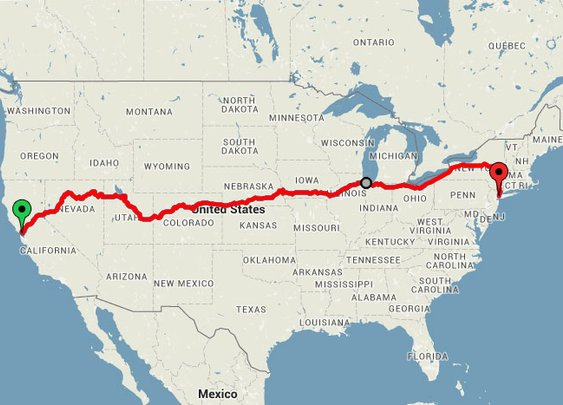 $213 Train Trip that Takes you Across America