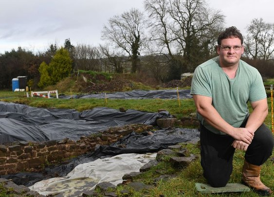 A history fan spent his life savings buying a field - and found a medieval city buried underneath - Wales Online