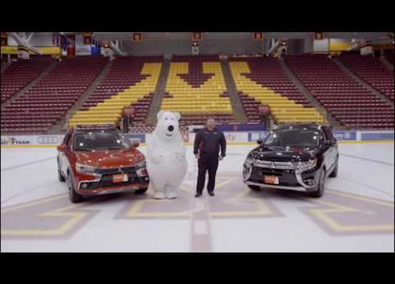 White Bear Mitsubishi - Gopher Hockey Outtakes - White Bear On Ice - YouTube