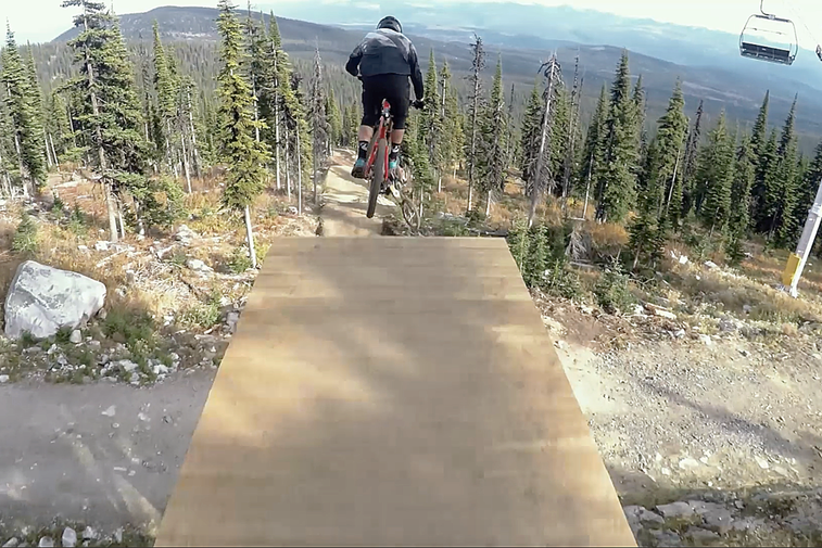 POV: MTB's Best Rip Mega Jump Trail in 'Rhythm'