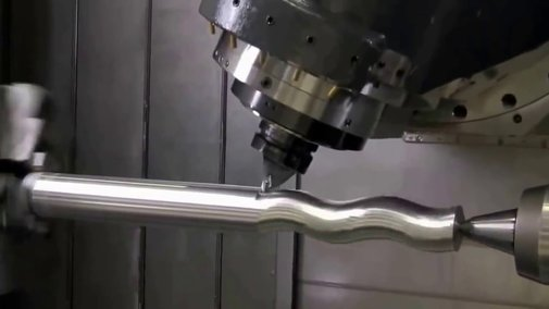 Mesmerizing Machine Turning Metal