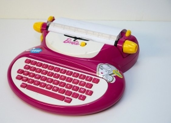 Barbie typewriter has undocumented ciphering capabilities