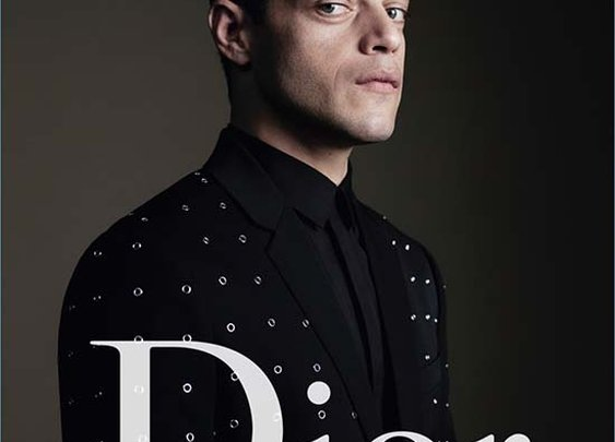 Rami Malek for Dior Homme's spring 2017 campaign