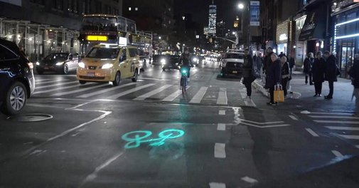 Citi Bikes are getting outfitted with laserlights to improve rider safety