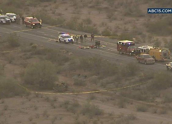 Arizona trooper shot in ambush attack #goodguywithagun