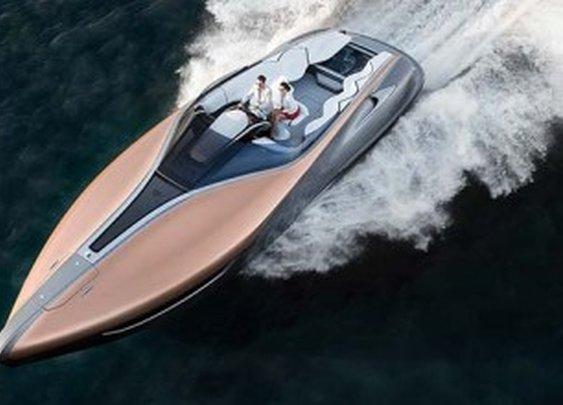 Lexus Debuts Amazing Sport Yacht Concept