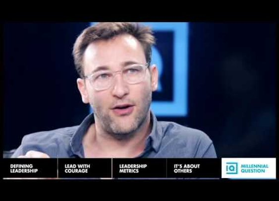 Simon Sinek - The Millennial Question - Millennials in the workplace - YouTube