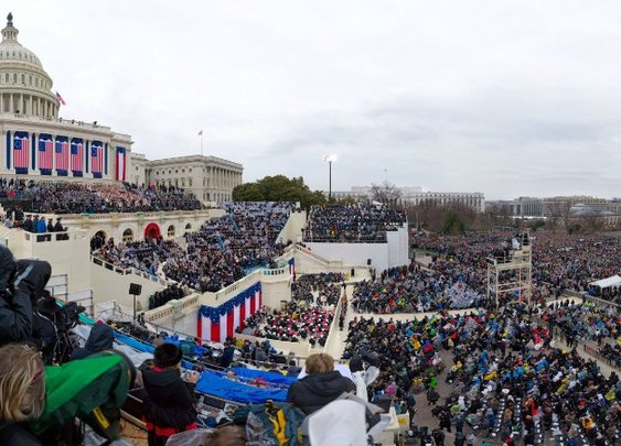 Gigapixel: The inauguration of Donald Trump
