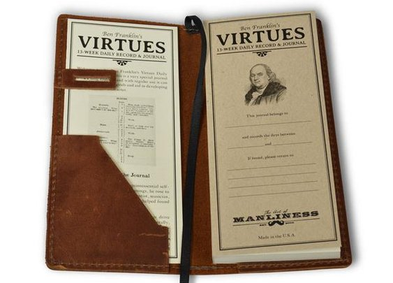 Ben Franklin's Virtues: 13 Week Journal – The Art of Manliness Store