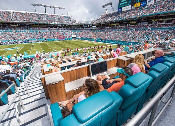NFL luxury suites: Touring the most tricked-out stadium seats