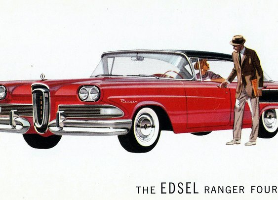 The Edsel Proved Why You Should Never Design a Car by Comittee