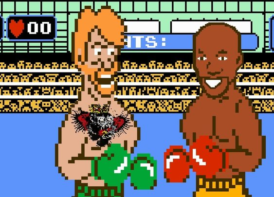 Conor Mcgregor's vs. Floyd Mayweather Punch Out