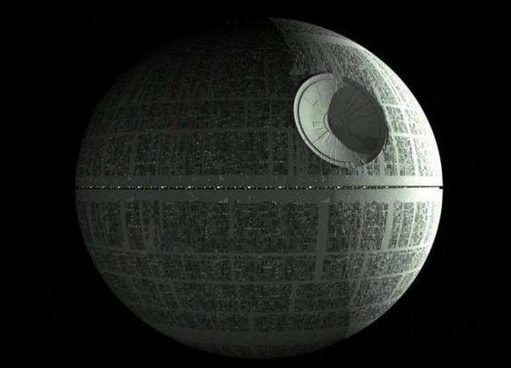The Death Star's Trench Isn't Where You Thought It Was