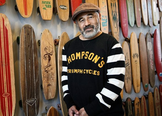 Steve Caballero on Bones Brigade Reunion and Motorcycles  - Rolling Stone