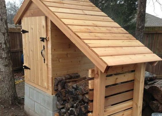 DIY complete instructions to build amazing cedar smokehouse