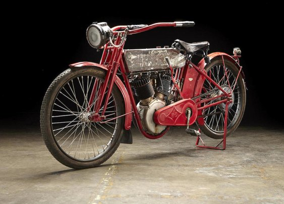 Steve McQueen's 1912 Harley-Davidson X8E Big Twin