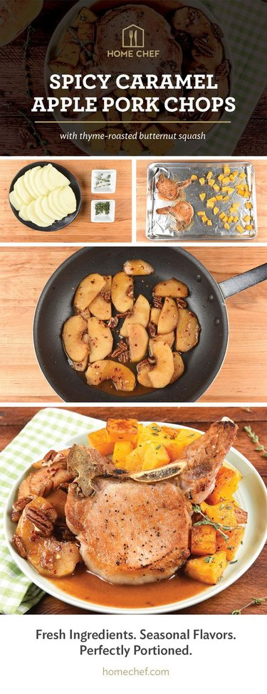Spicy Caramel Apple Pork Chops | Gentlemint