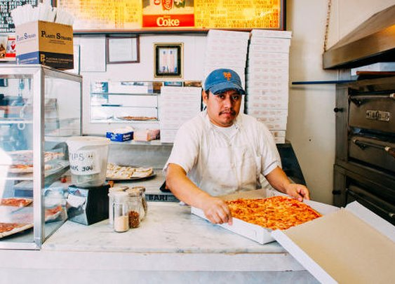An Ode To New York City's Glorious Old-School Pizza Parlors | Co.Design | business + design