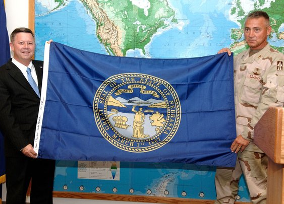 Nebraska flag flew upside down at Capitol for 10 days and 'nobody noticed,' says senator who wants design change | Legislature | omaha.com