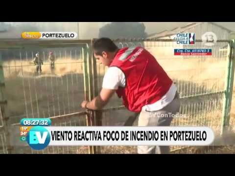 Incendio Portezuelo - YouTube