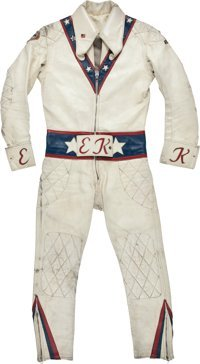 1972-73 Evel Knievel Motorcycle Leathers Worn in | Lot #80001 | Heritage Auctions