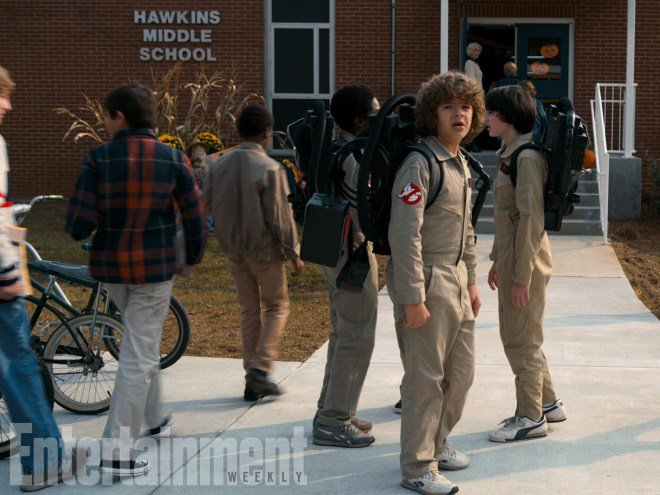 Stranger Things: First look at Super Bowl ad